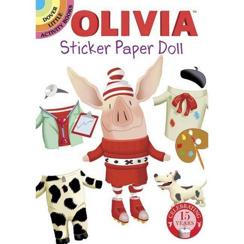 Olivia Sticker Paper Doll - (Dover Little Activity Books Stickers) (Paperback) - image 1 of 1
