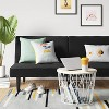 Futon Sofa Black - Room Essentials™ - image 2 of 4