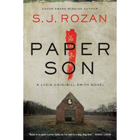 Paper Son - (Lydia Chin/Bill Smith Mysteries) by  S J Rozan (Hardcover) - image 1 of 1