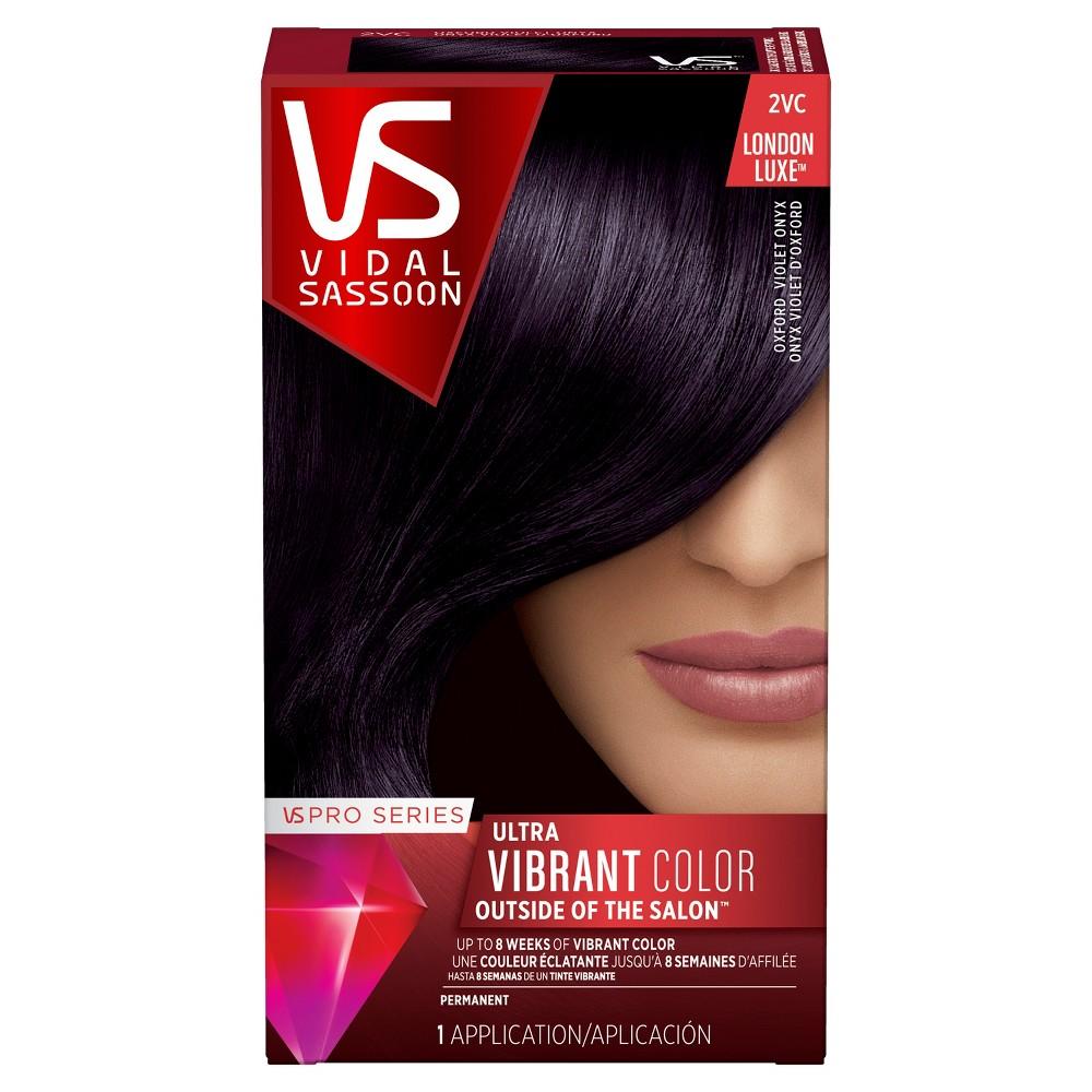 Vidal Sassoon Pro Series Permanent Hair Color - 2VC Oxford Violet Onyx - 1 kit