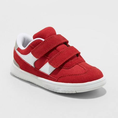Toddler Boys' Casey Sneakers - Cat & Jack™ Red - image 1 of 3