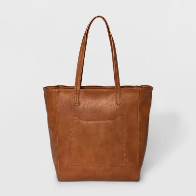 Hayden Tote Handbag - Universal Thread™ Cognac
