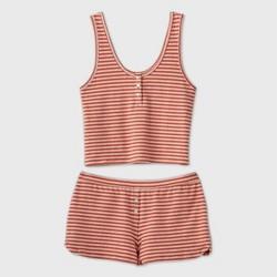 Women's Striped Tank Pajama Set - Colsie™