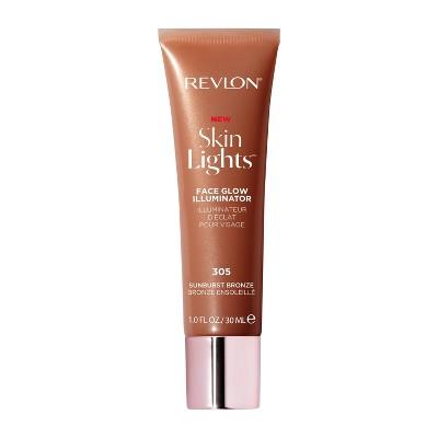 Revlon Skinlights Face Glow Illuminator and Liquid Bronzer 002 - Bronze Light - 1 fl oz