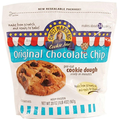 Sweet Marth Chocolate Chunk Frozen Cookie Dough 20oz