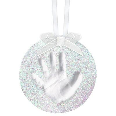 Pearhead Babyprints Christmas Ornament -Glitter
