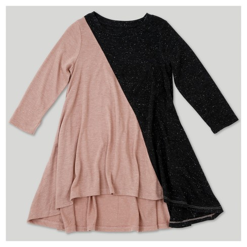 Toddler Girls' Afton Street A Line Dress - Charcoal Heather - image 1 of 1