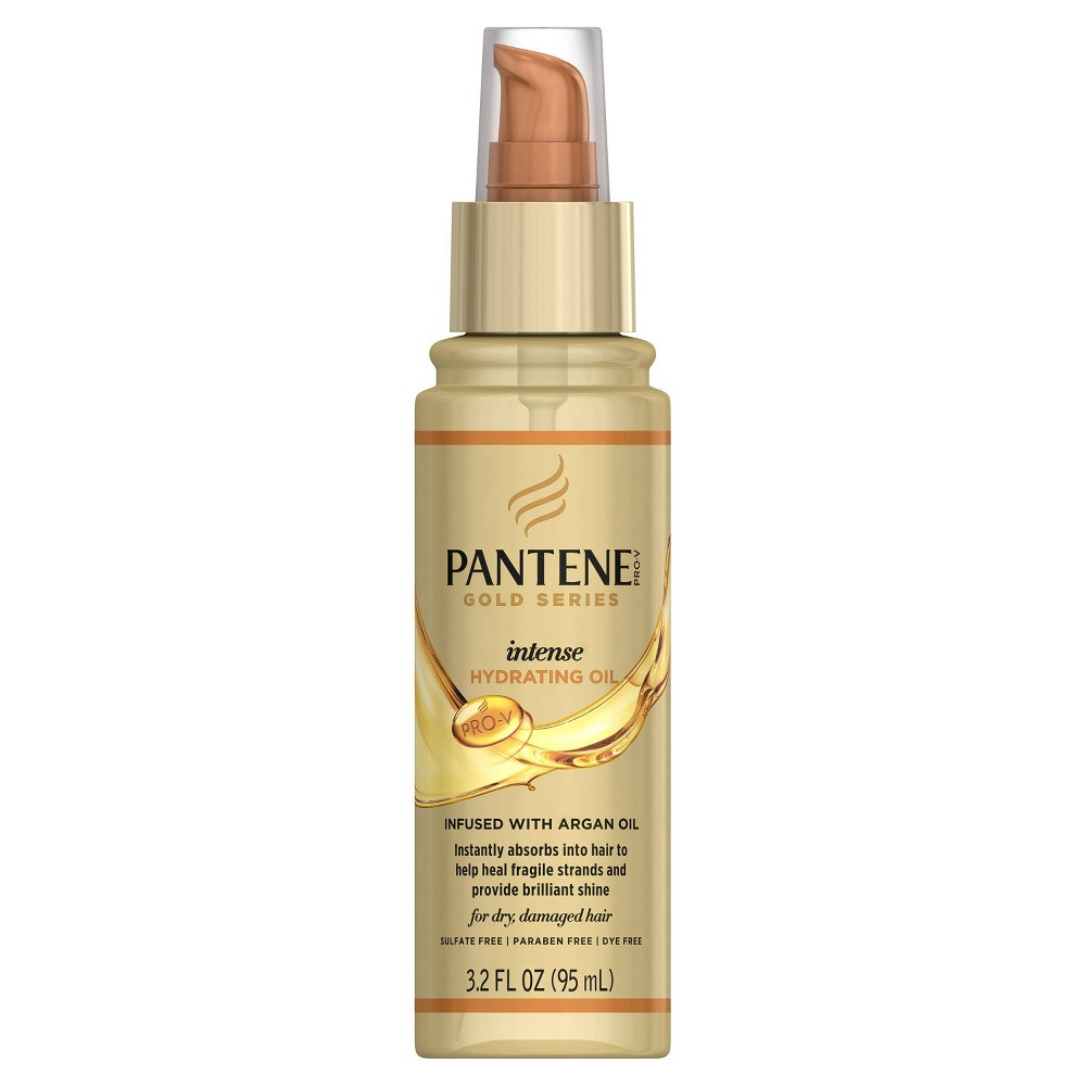 Image of Pantene Gold Series Intense Hydrating Oil - 3.2 fl oz