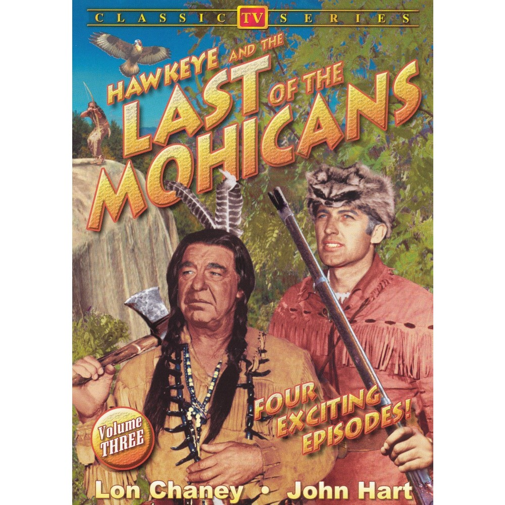 Hawkeye The Last Of The Mohicans 3 Dvd