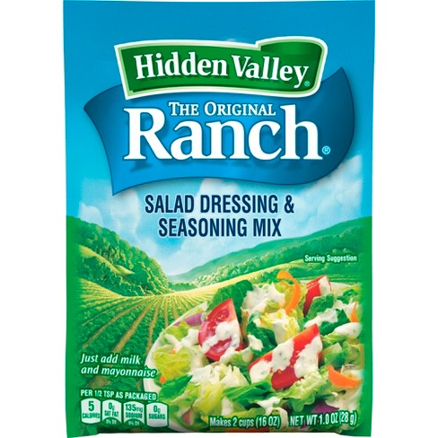 Hidden Valley Original Ranch Salad Dressing & Seasoning Mix - Gluten Free - Pouch - image 1 of 4