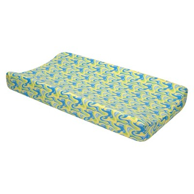 Oh-the Places You'll Go! Changing Pad Cover - Blue
