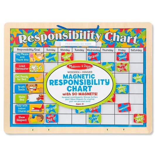 Melissa & Doug Magnetic Responsibility Chart image number null