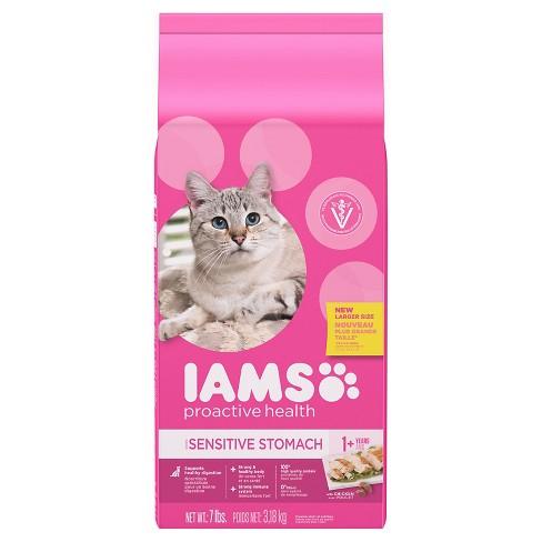 Iams Sensitive Stomach Proactive Health Dry Cat Food