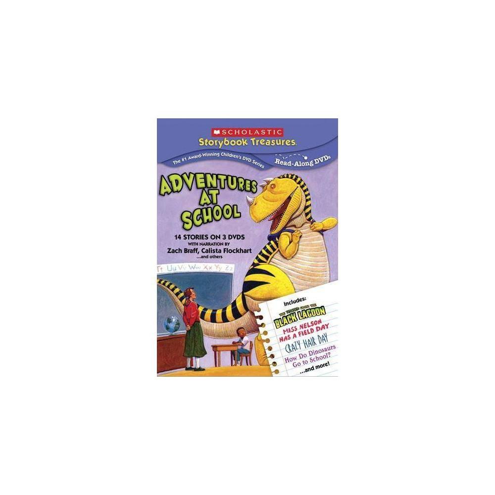 Scholastic Adventures At School Dvd 2010