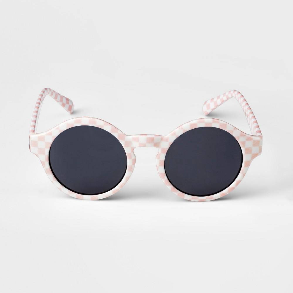 Kids' Checker Sunglasses - art class Pink/White, Kids Unisex