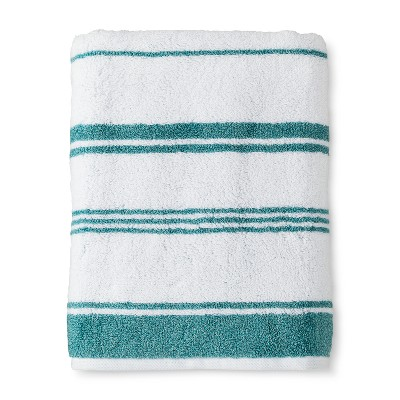 Bath Towel Performance Texture Bath Towels And Washcloths Trout Stream - Threshold™