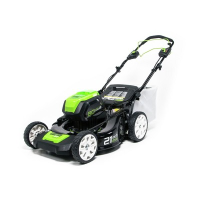 Greenworks 2502402TNVAZ Pro 80V Brushless Lithium-Ion 21 in. Cordless Self-Propelled Mower (Tool Only)