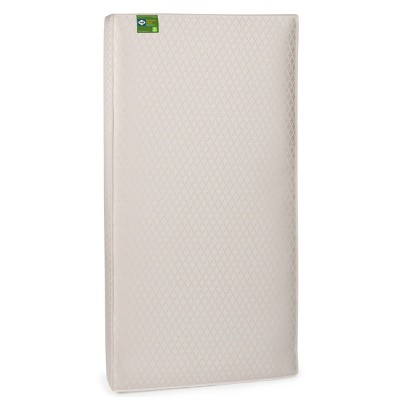 Sealy Soybean Plush Foam-Core Crib and Toddler Mattress