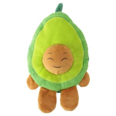 Avocado Plush Squeaks Dog Toy - Green - M - Boots & Barkley™