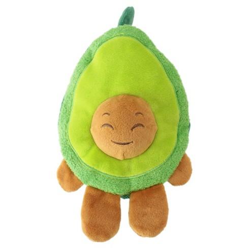 Avocado Plush Squeaks Dog Toy - Green - M - Boots & Barkley™ - image 1 of 10