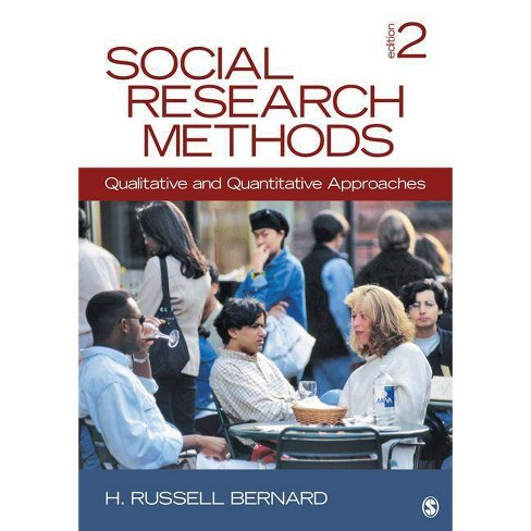 Social Research Methods - 2 Edition by  H Russell Bernard (Hardcover) - image 1 of 1