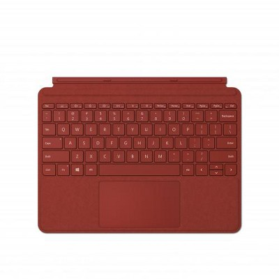 Microsoft Surface Go Signature Type Cover Poppy Red - Pair w/ Surface Go - A full keyboard experience - Close to protect screen & conserve battery