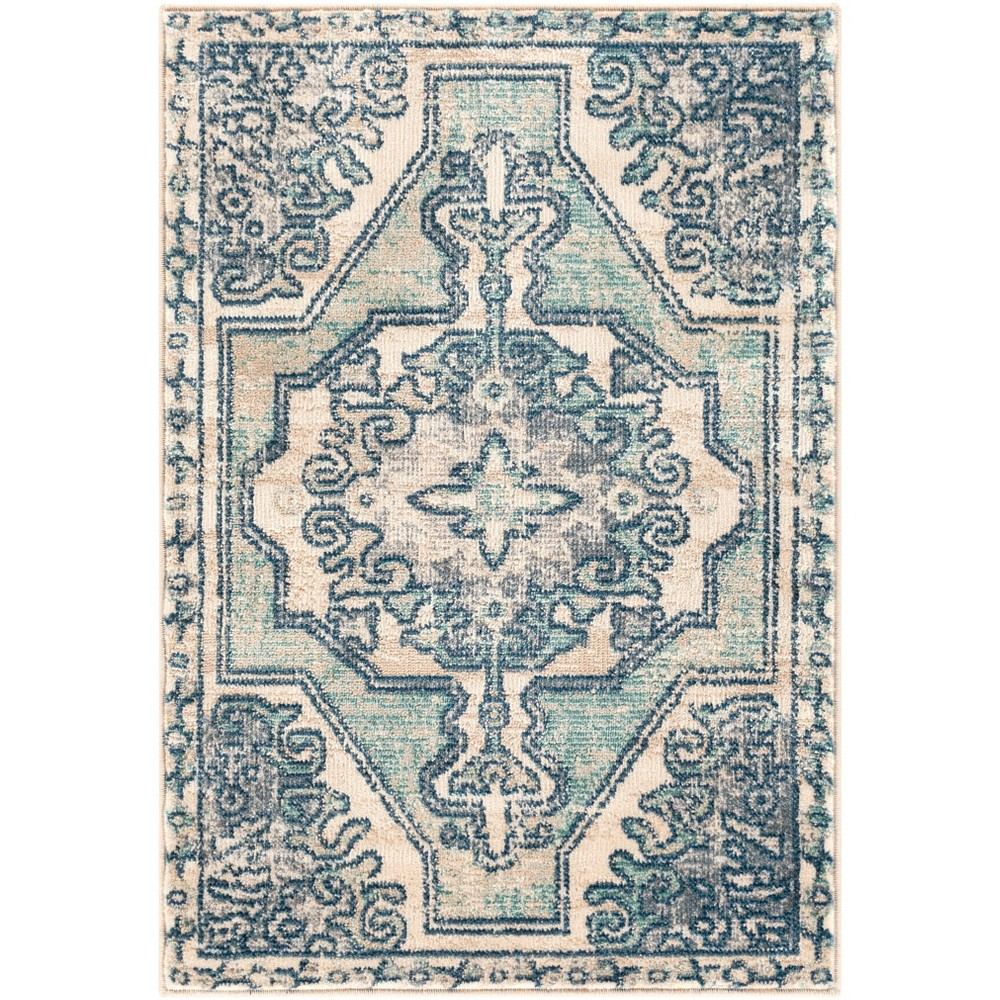 2 39 X2 39 11 34 Thatch Traditional Rug Blue Artistic Weavers