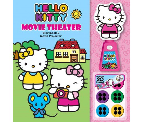 Hello Kitty Movie Theater Storybook + Movie Projector (Hardcover) (Thea Feldman) - image 1 of 1
