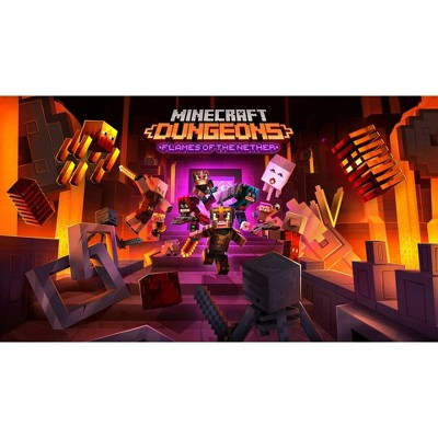 Minecraft Dungeons: Flames of the Nether - Nintendo Switch (Digital)