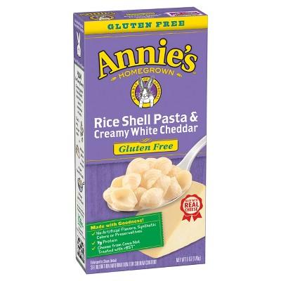 Annie's Gluten Free Rice Shells & Creamy White Cheddar 6oz