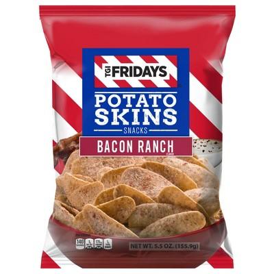 T.G.I. Friday's Bacon Ranch Potato Skins Snacks - 5.5oz