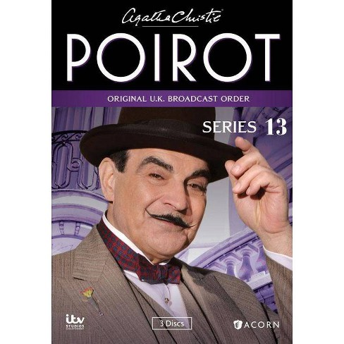 Christie poirot collection agatha dvd Poirot buy