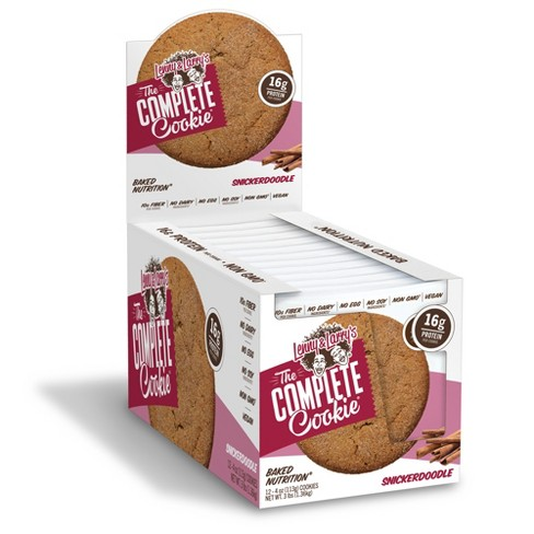 Lenny & Larry's Complete Cookie - Snickerdoodle - 12ct - image 1 of 1