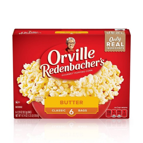 Orville Redenbacher's Butter Popcorn 6ct / 19.74oz - image 1 of 4