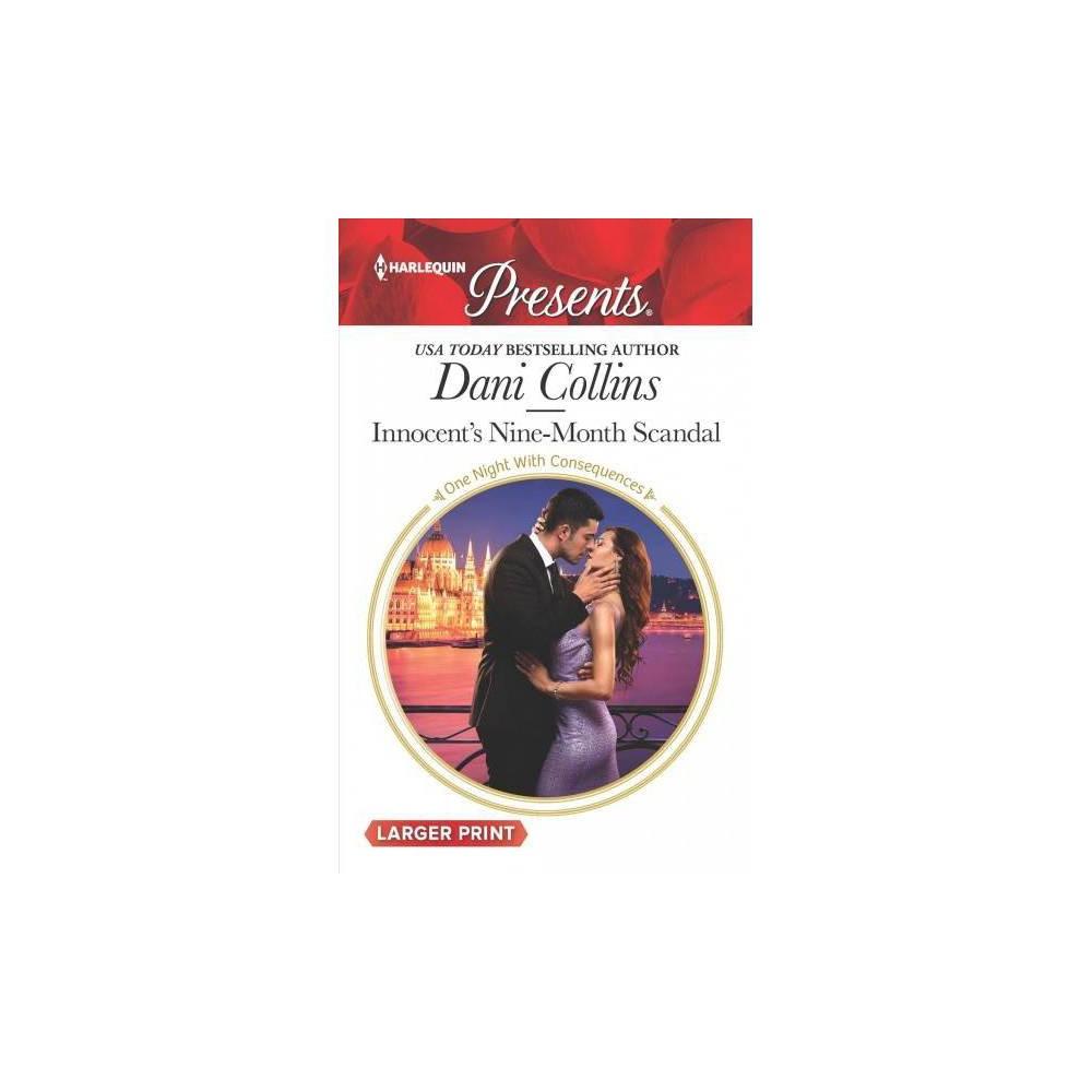 Innocent's Nine-Month Scandal - Lgr by Dani Collins (Paperback)