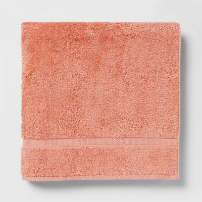 Soft Solid Bath Sheet Coral - Opalhouse™