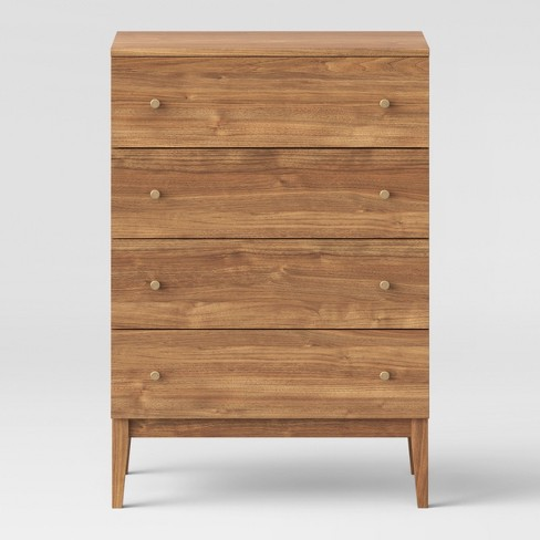 Siegel 4 Drawer Chest Walnut - Project 62™ - image 1 of 5