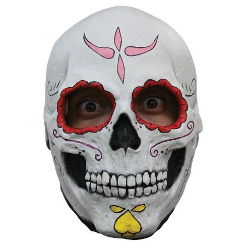 Catrina Skull Latex Mask Target