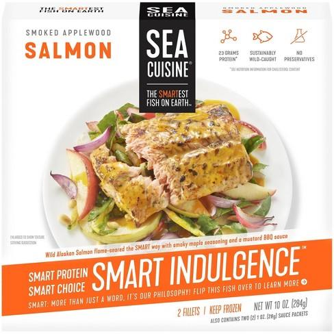 Sea Cuisine Smart Indulgence Smoked Applewood Salmon - 10oz - image 1 of 4