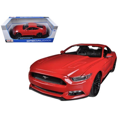 2015 Ford Mustang GT 5.0 Red 1/18 Diecast Car Model by Maisto - image 1 of 1
