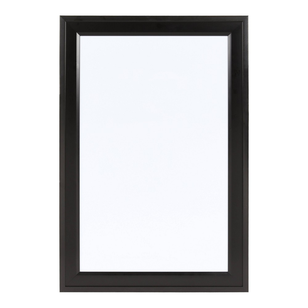 "Image of ""15"""" x 24"""" Bosc Dry Erase Board Black - DesignOvation"""