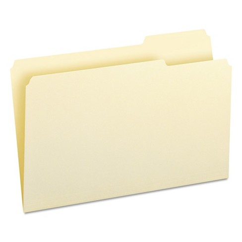 Smead® 1/3 Cut Third Position One-Ply Top Tab File Folders (100 per Box) - image 1 of 6