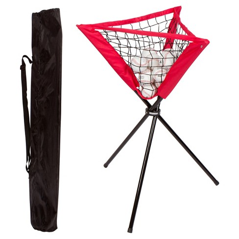 Trademark Innovations Portable Batting Ball Caddy with Carry Bag - image 1 of 2