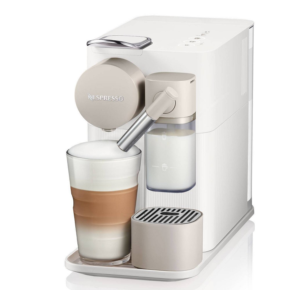 Nespresso Lattissima ONE Espresso & Coffee Maker, Silky White