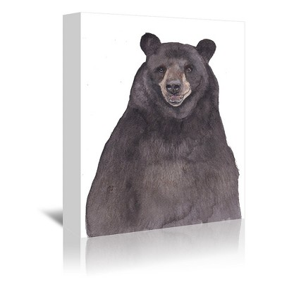 Americanflat Bear by Cami Monet Wrapped Canvas