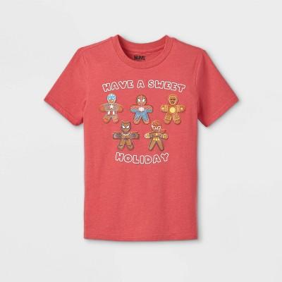 Kids' Marvel Spider-Man Sweet Treat Short Sleeve Graphic T-Shirt - Red