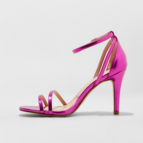395ef1153d7 Women's Kayce Strappy Stiletto Heeled Pumps - A New Day™ : Target