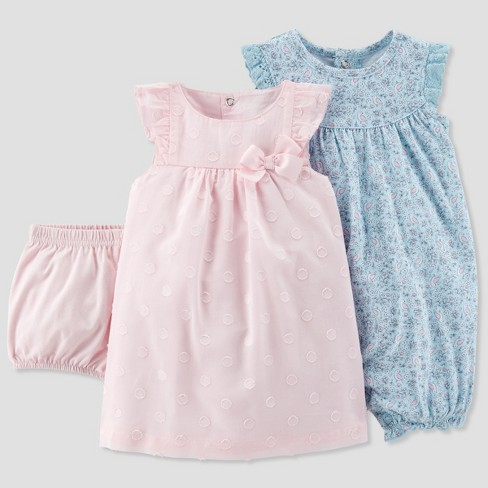 Girls' Clothing (newborn-5t) Baby Girl Romper Set Outfits & Sets