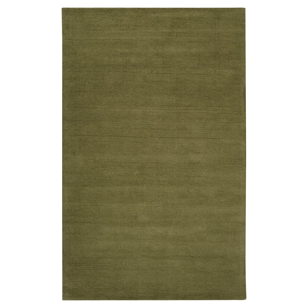 Green Solid Loomed Accent Rug - (2'X3') - Surya