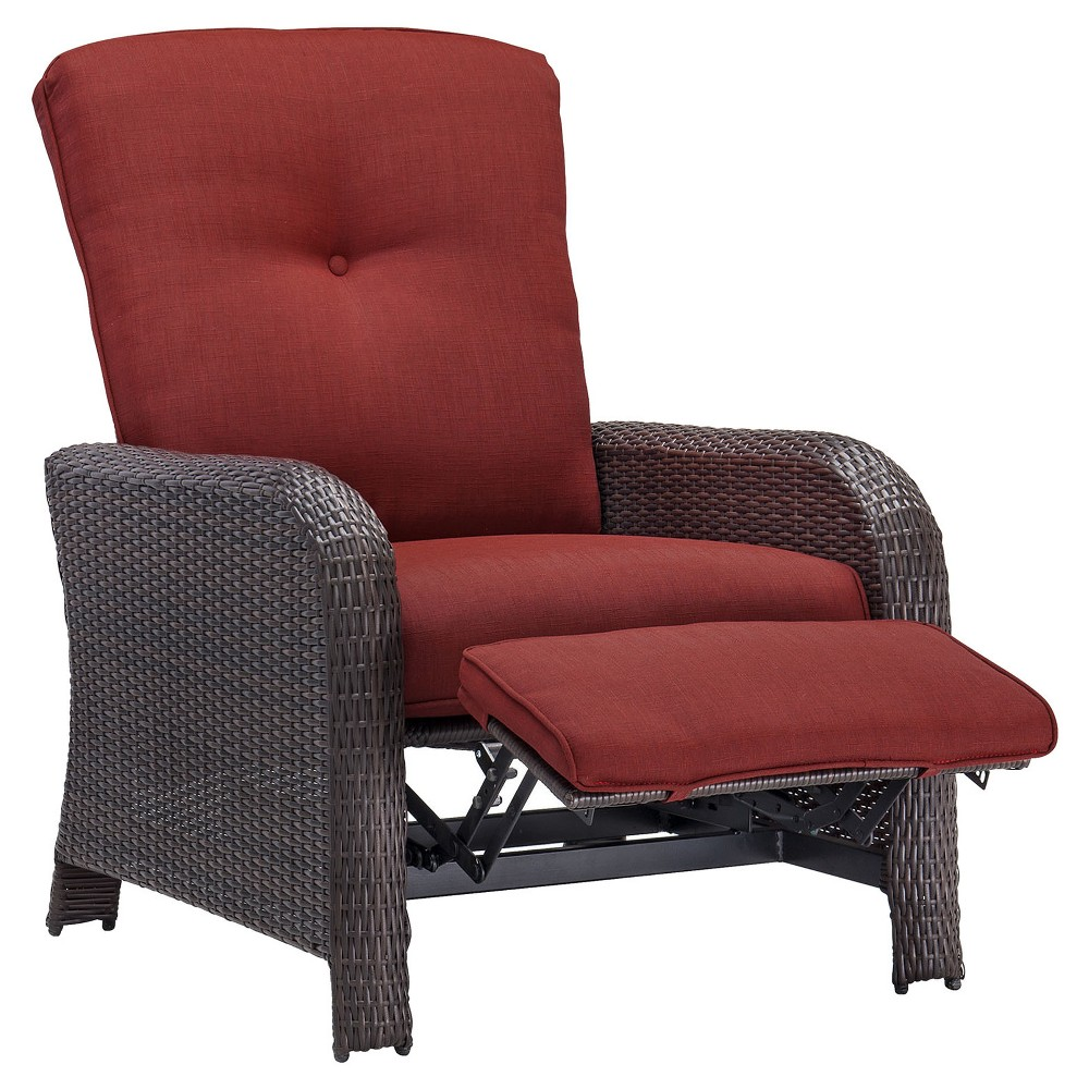 Image of Corolla Luxury Recliner - Red - Hanover